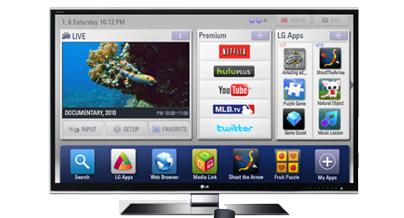 Disfrute su Smart TV!