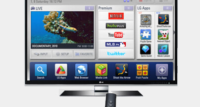 Disfrute su Smart TV!