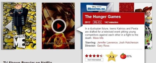 Netflix Rate, extensión para Chrome con IMDb
