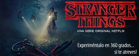 Netflix acaba de lanzar una experiencia en 360° de Stranger Things que NO TE PUEDES perder!