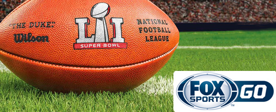 Super Bowl LI por FOX SPORTS GO
